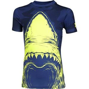 Under Armour 100% Beast Shark Fitted Shirt Blue XS